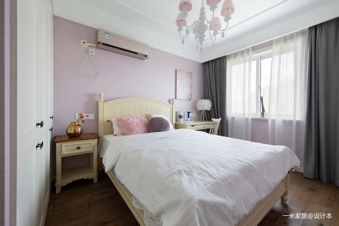 浪漫85平美式二居装修装饰图