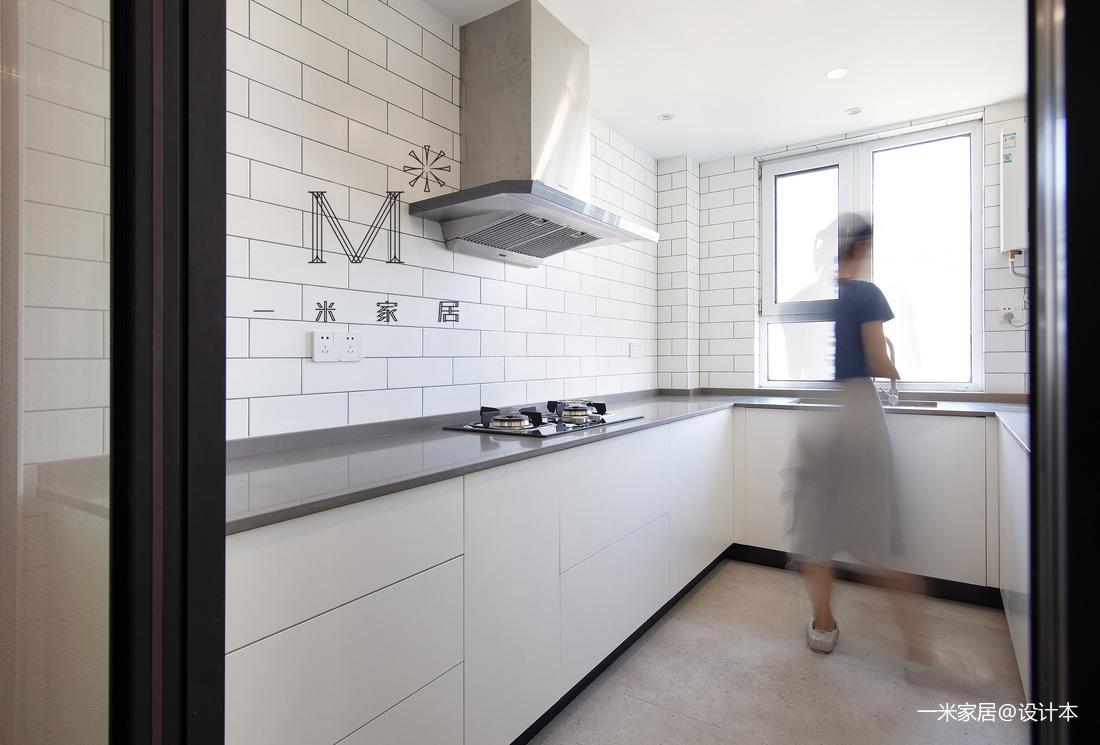 简洁59平北欧二居客厅实景图片