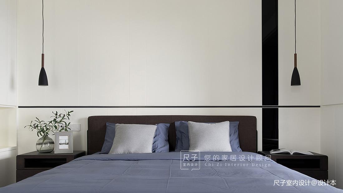 【尺子室內設計】臻境 | 175㎡黑白灰大宅,演繹品質生活_3420587