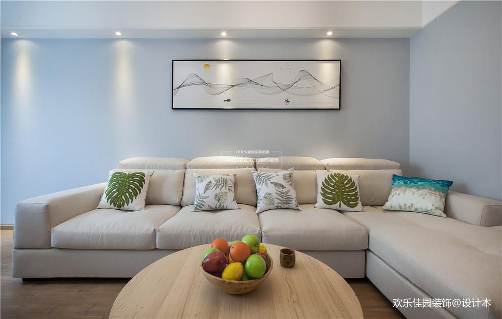 优美87平北欧三居客厅图片欣赏