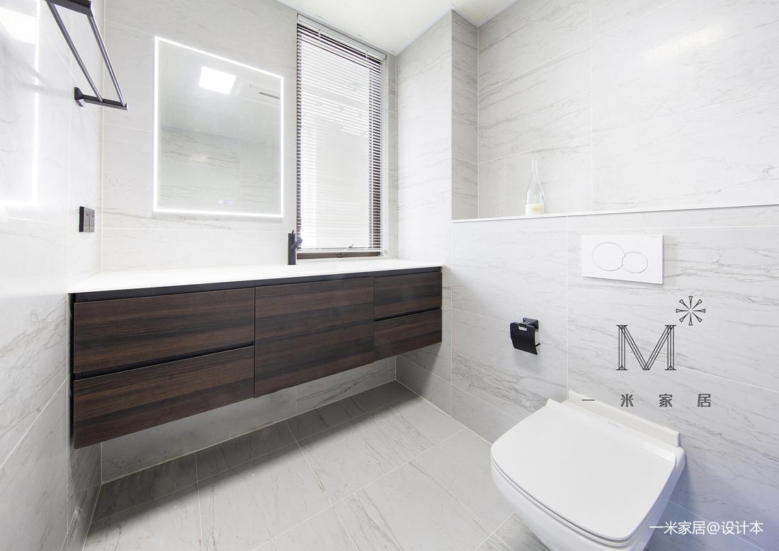 简约的现代北欧风格洗手间设计