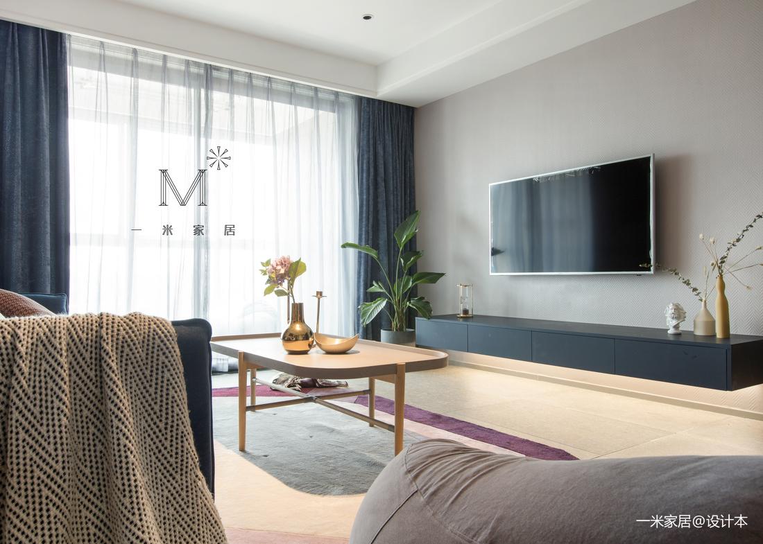 典雅85平北欧二居客厅装修美图