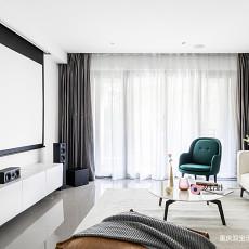 典雅114平现代三居客厅装修效果图