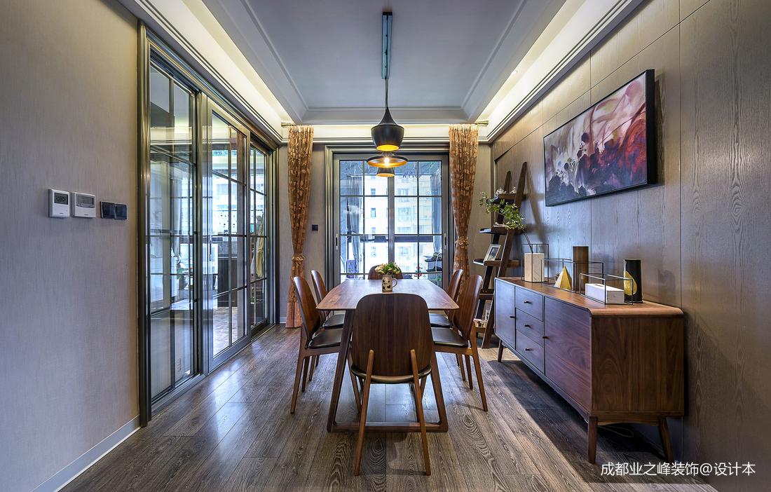 简洁429平现代别墅餐厅设计美图