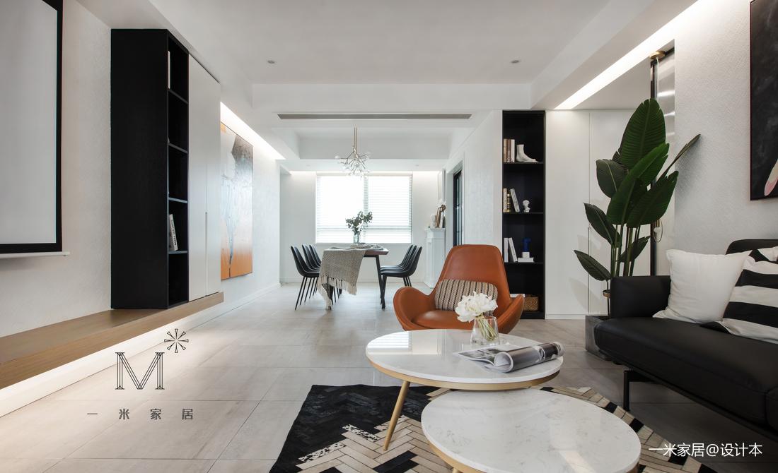 简洁60平现代二居客厅图片欣赏
