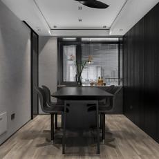 明亮72平现代三居餐厅实景图片