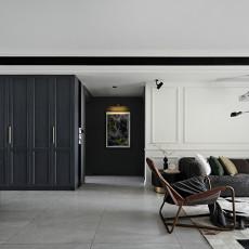 大气98平现代三居客厅装修装饰图