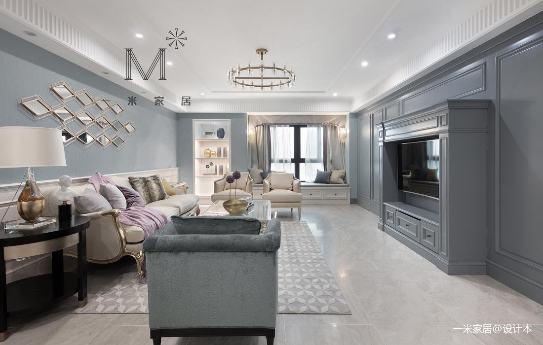 201970平美式二居装修装饰图