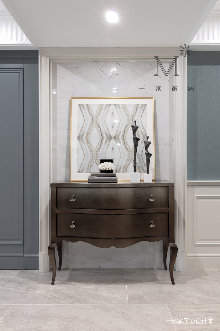 优雅75平美式二居装修装饰图