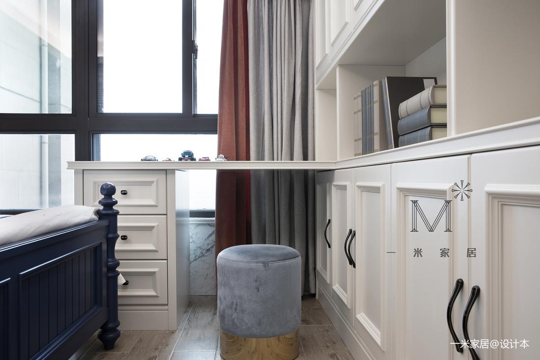 典雅55平美式二居装修设计图