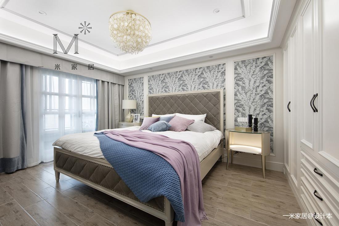 浪漫67平美式二居卧室美图