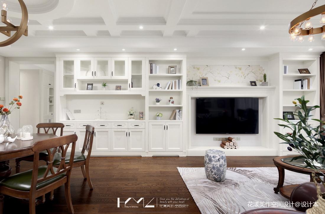 简洁79平美式三居设计案例