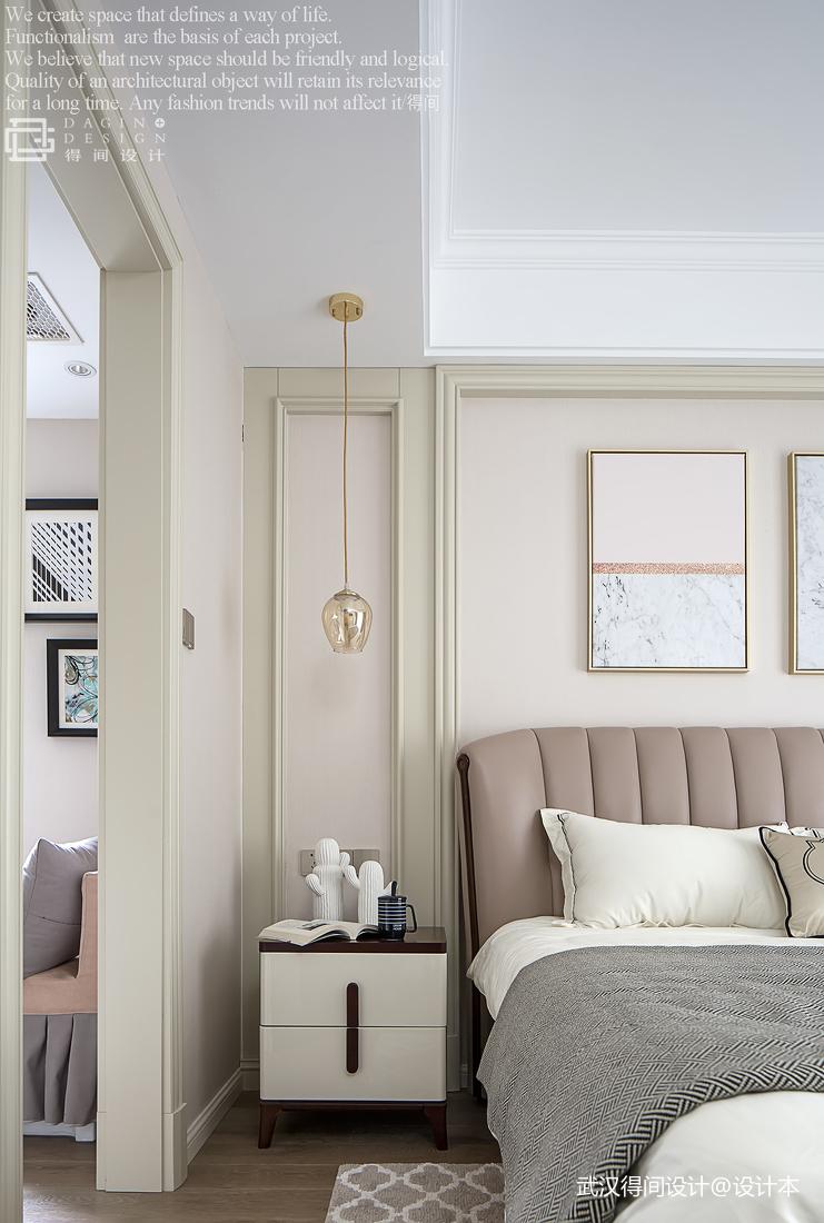 大气101平美式三居卧室图片欣赏
