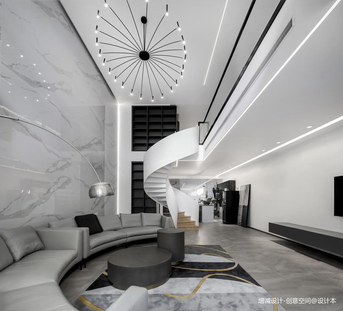 质朴700平现代别墅客厅装修图片