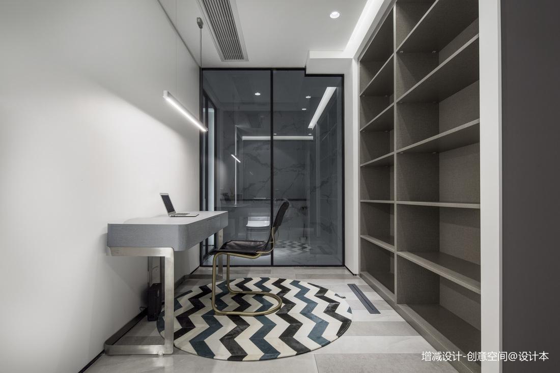 优雅218平现代别墅书房设计美图