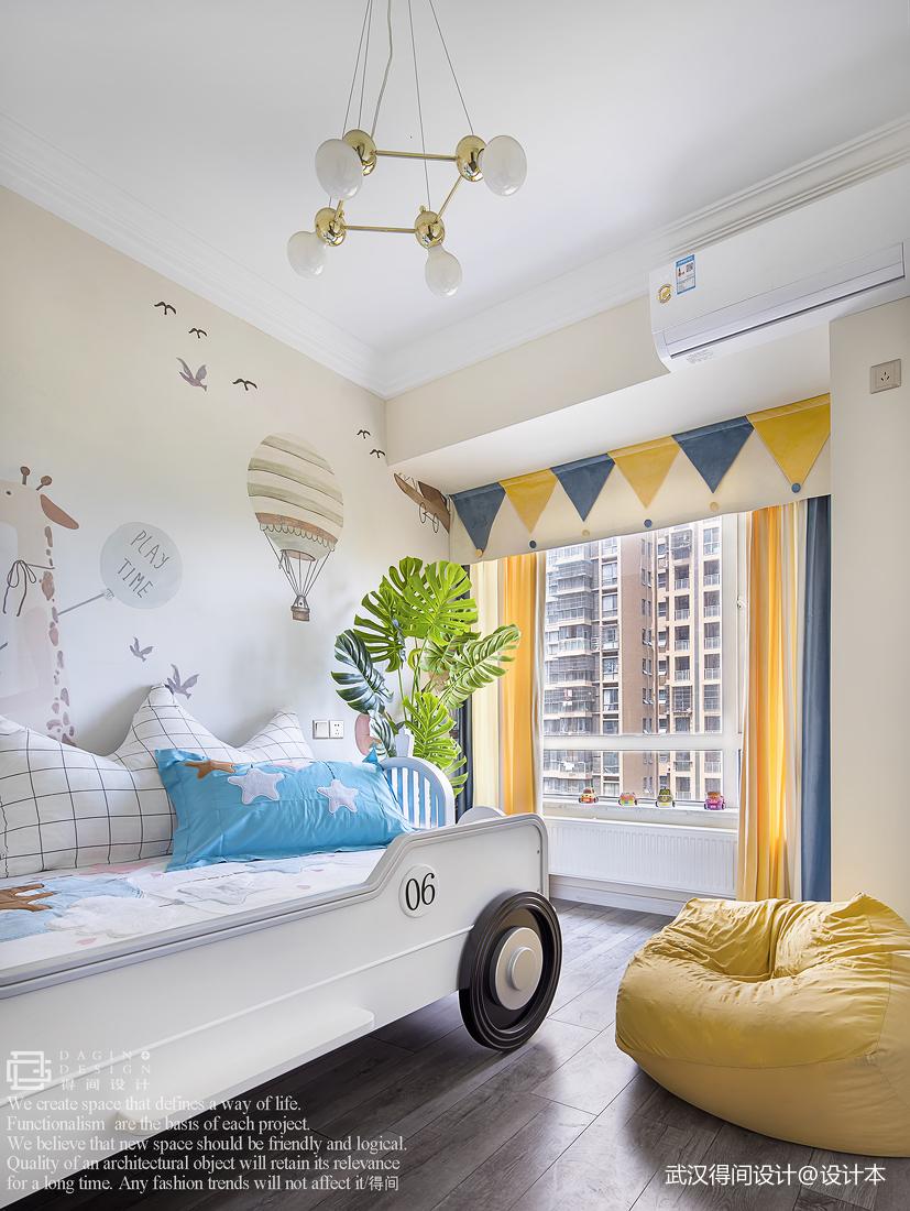 明亮109平法式三居儿童房装修效果图