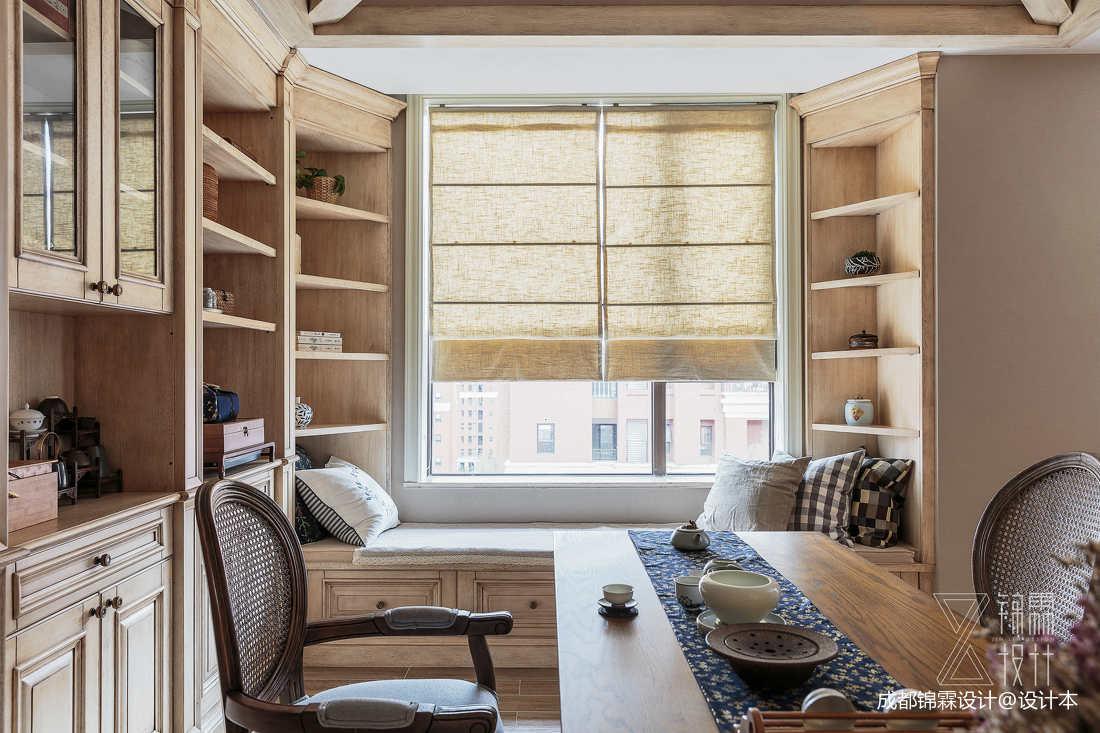 优美75平法式二居休闲区图片欣赏