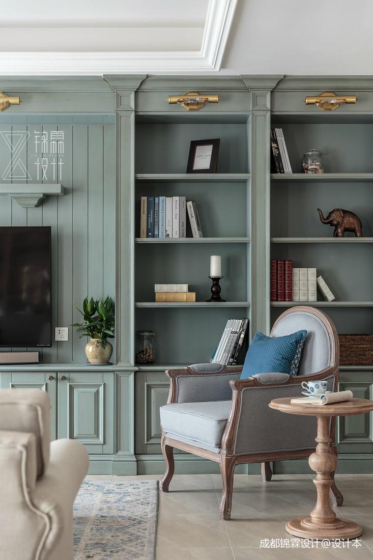 精致84平法式二居客厅装修设计图