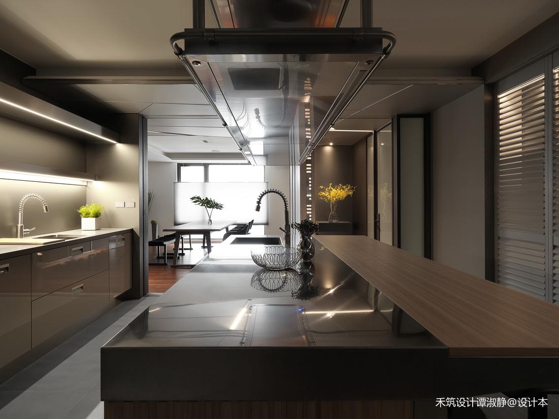 精美990平现代别墅厨房设计美图