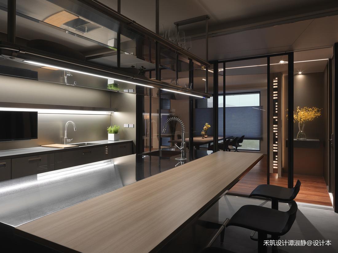 质朴571平现代别墅厨房布置图