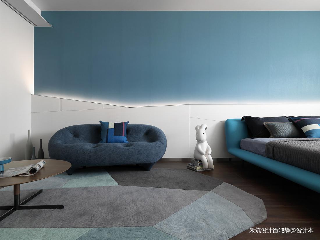 华丽653平现代别墅儿童房装修设计图