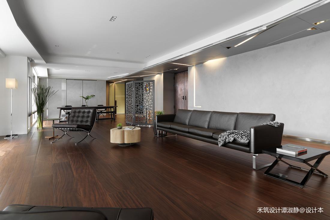 简洁679平现代别墅客厅效果图欣赏
