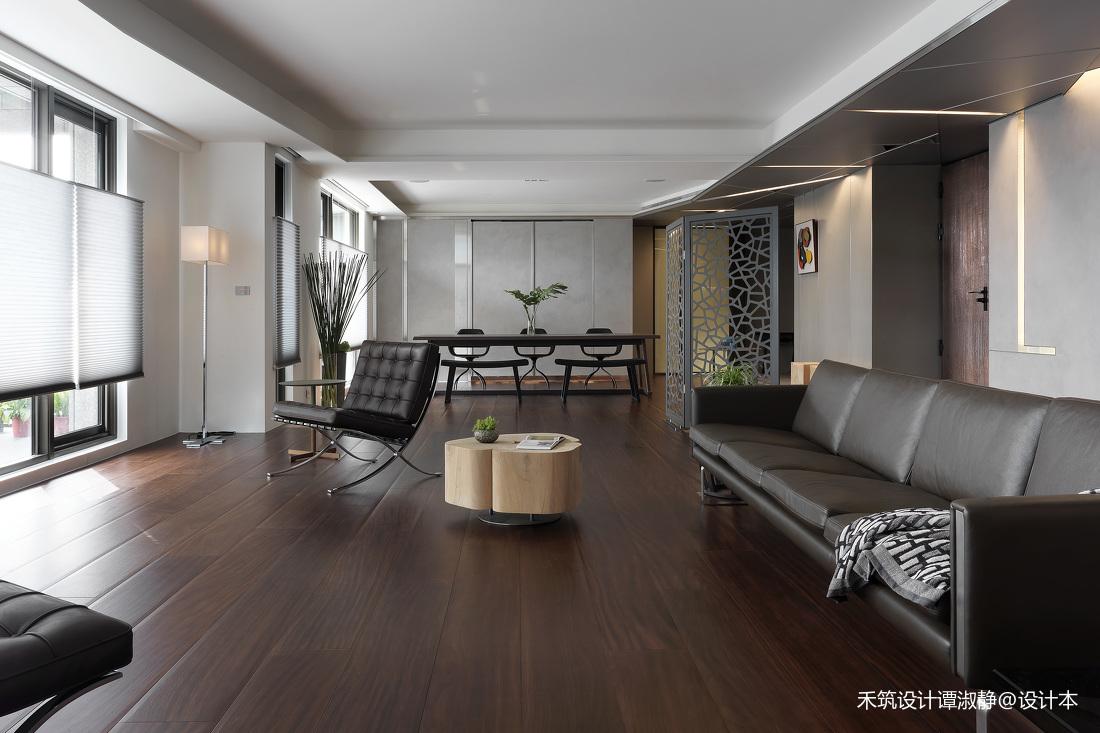 轻奢280平现代别墅客厅效果图欣赏
