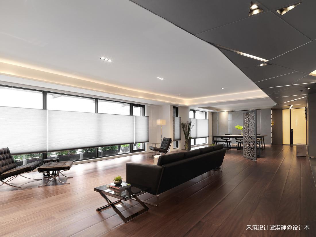 典雅302平现代别墅客厅图片欣赏