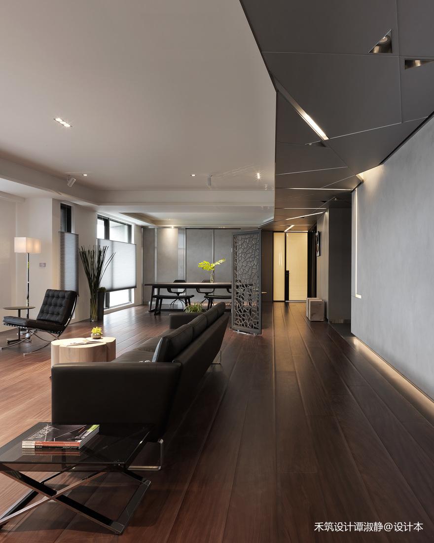 温馨629平现代别墅客厅装饰美图