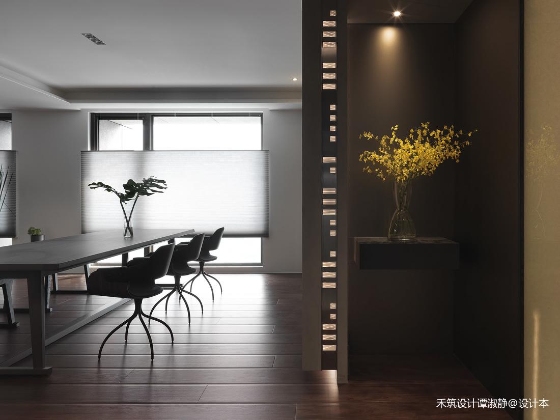 明亮322平现代别墅餐厅设计案例
