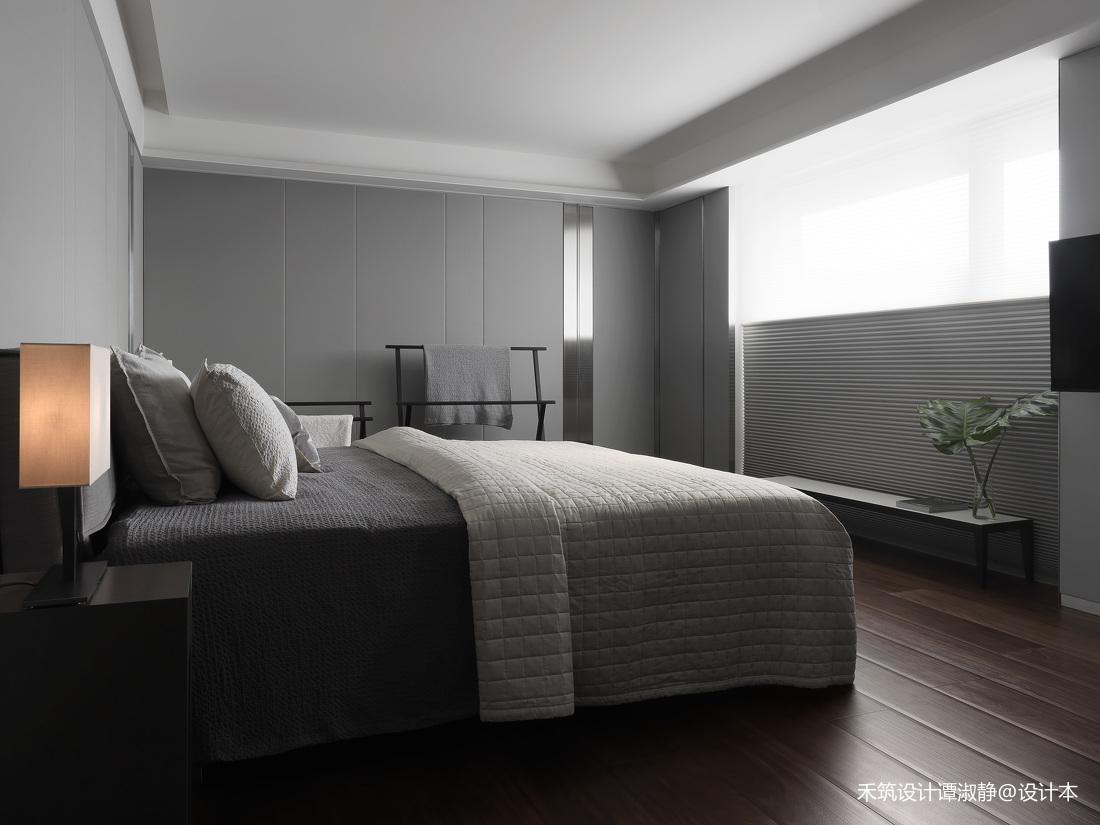 优美973平现代别墅卧室装修图