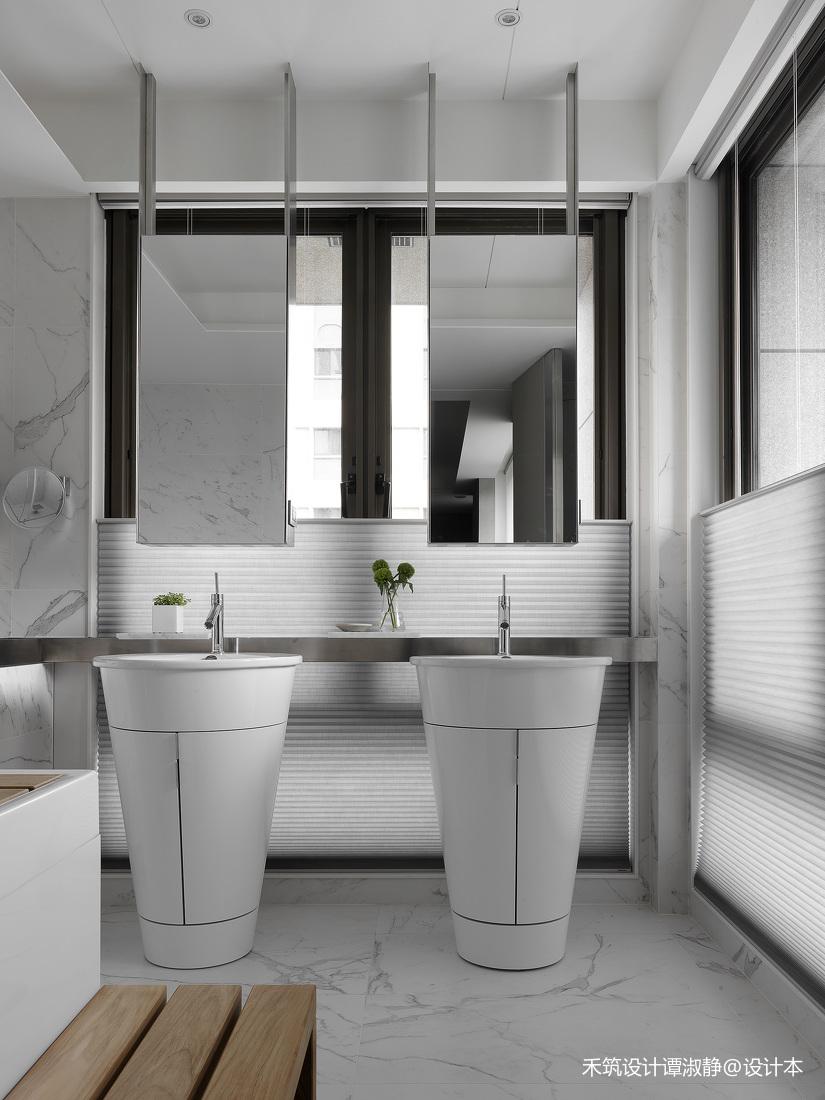 精美894平现代别墅卫生间装修案例