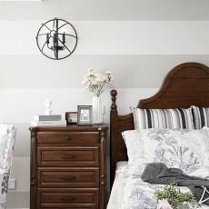 优雅116平混搭三居卧室设计图