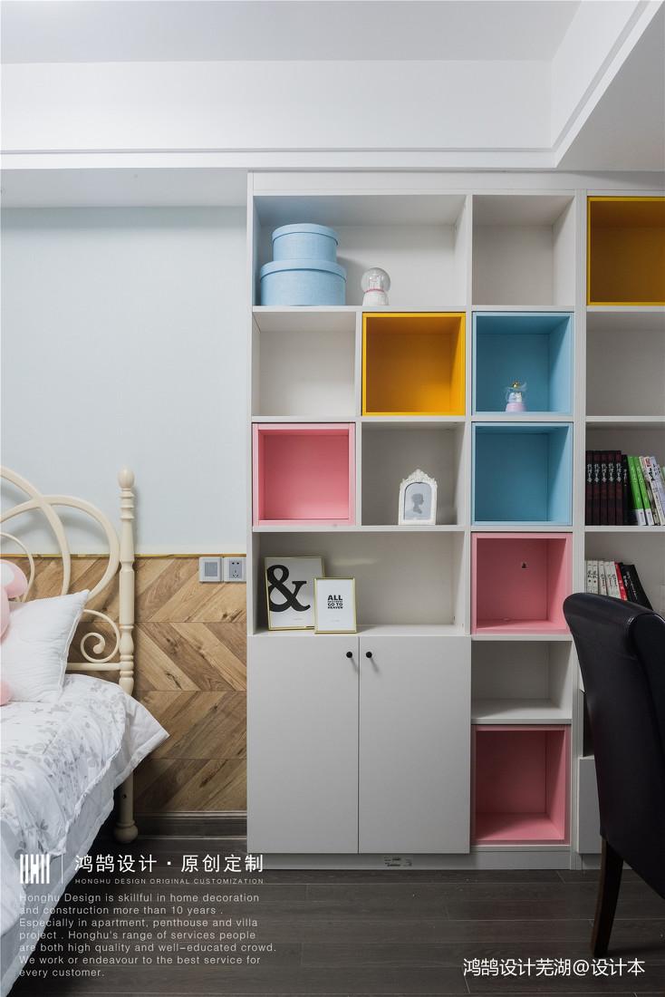 华丽88平现代三居儿童房装修美图