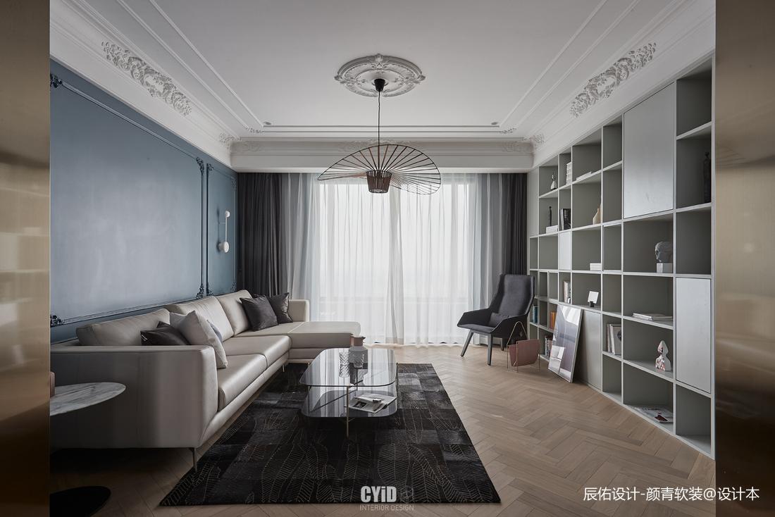 明亮30平混搭小户型客厅实景图片