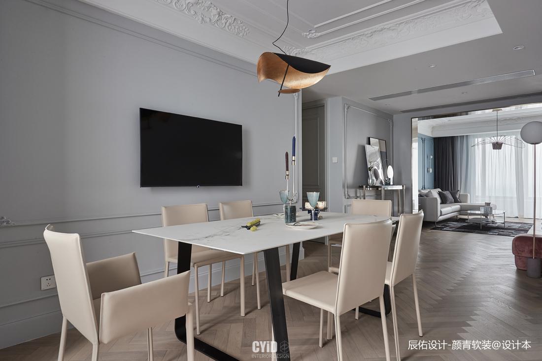 典雅36平混搭小户型餐厅装修设计图