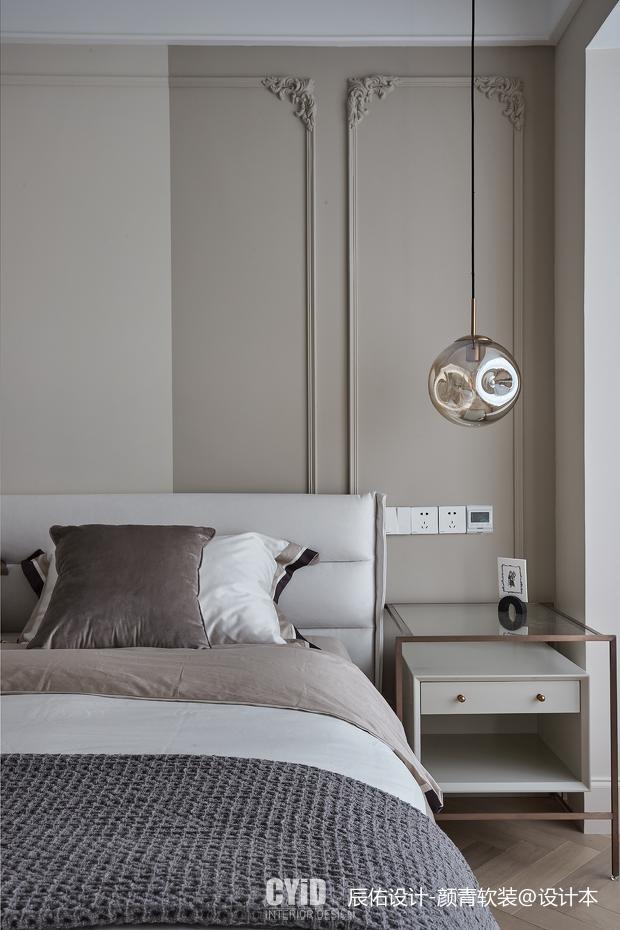 优美24平混搭小户型卧室装饰图