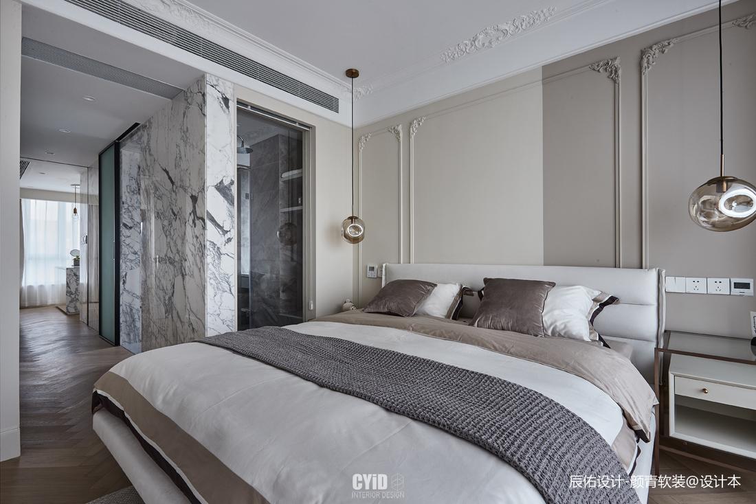 轻奢30平混搭小户型卧室装修图片