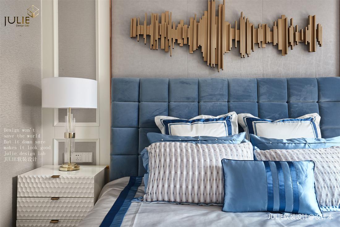 浪漫143平美式四居卧室设计案例