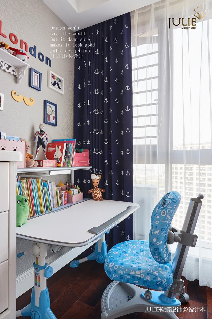 精致138平美式四居儿童房装饰图片