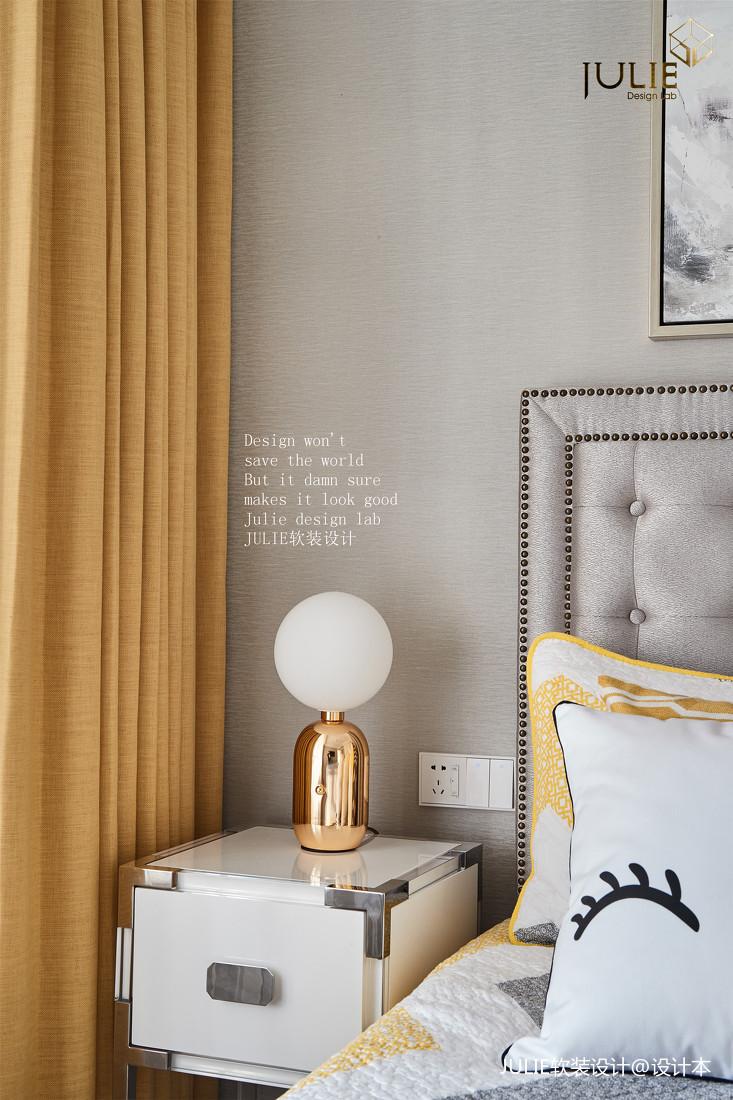 典雅115平美式四居卧室装修装饰图