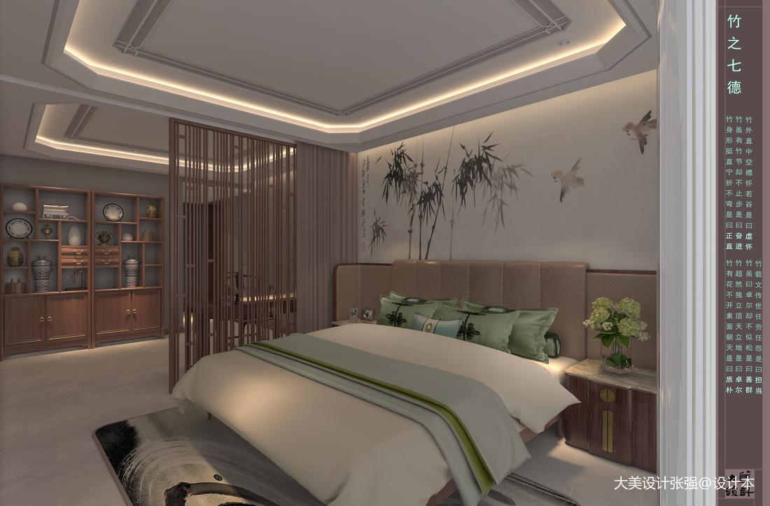 新中式风格别墅设计_3444220