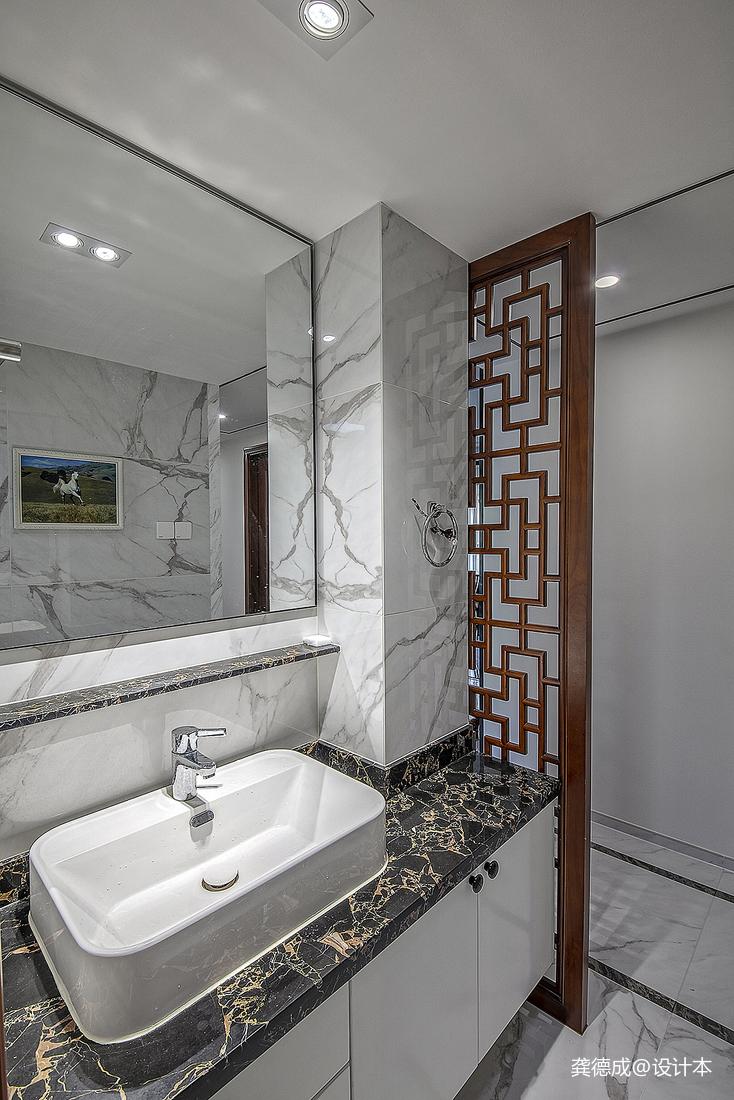 华丽492平中式别墅卫生间效果图欣赏