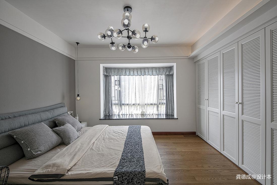 简洁291平中式别墅卧室实拍图