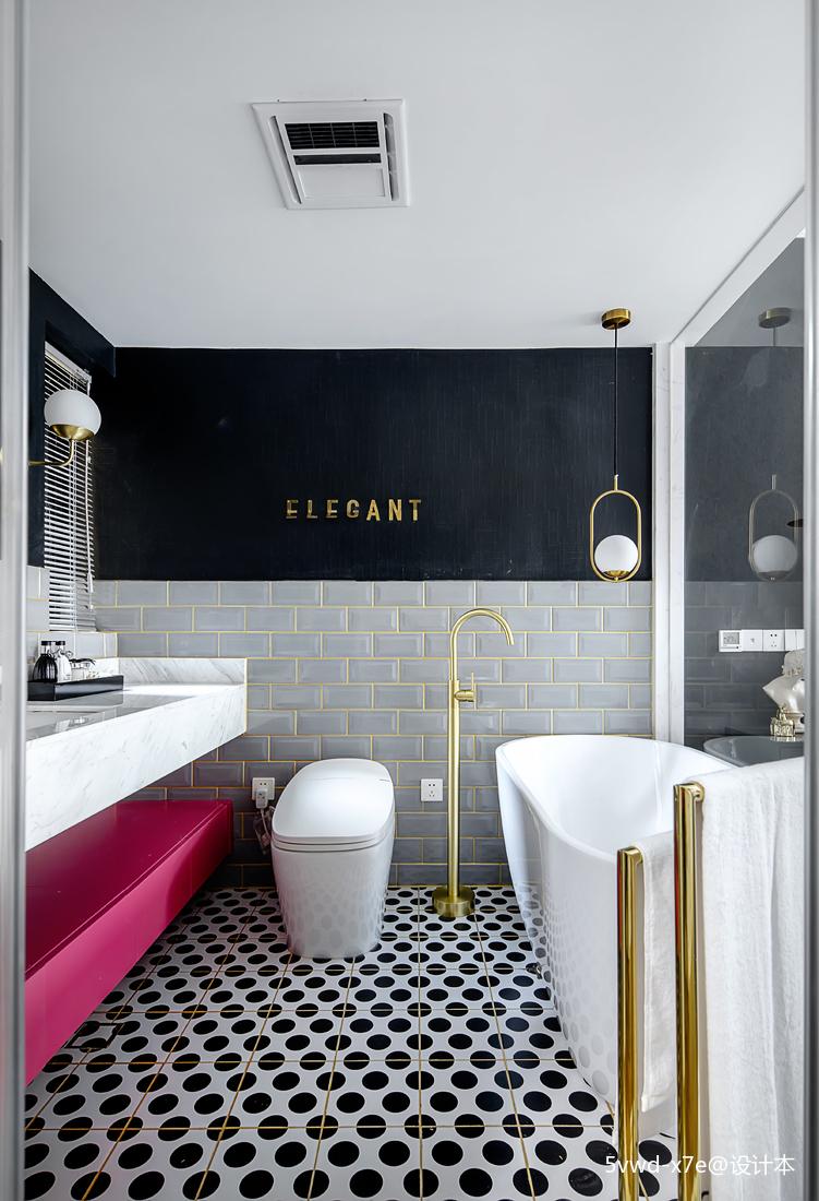 少女感法式卫浴设计