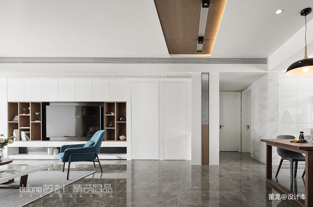 典雅23平现代小户型客厅实拍图