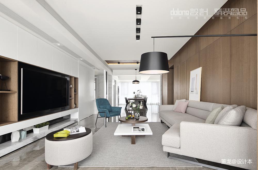 现代小户型客厅沙发设计