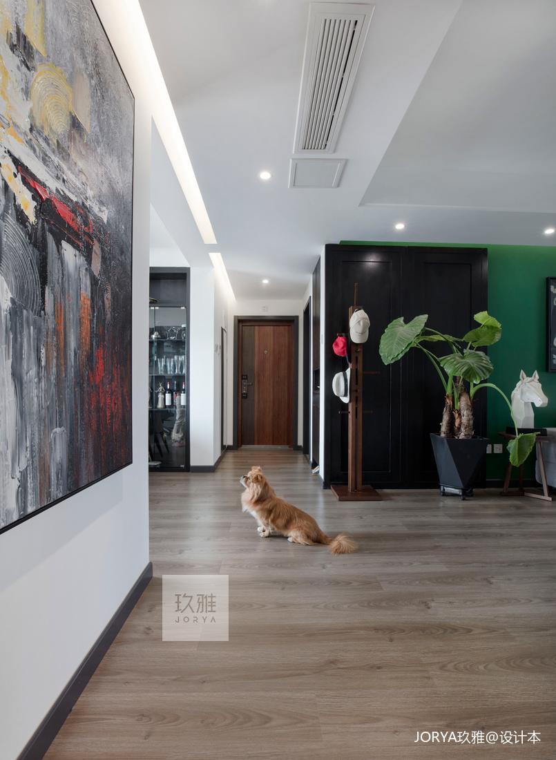 典雅143平简约四居客厅装修美图