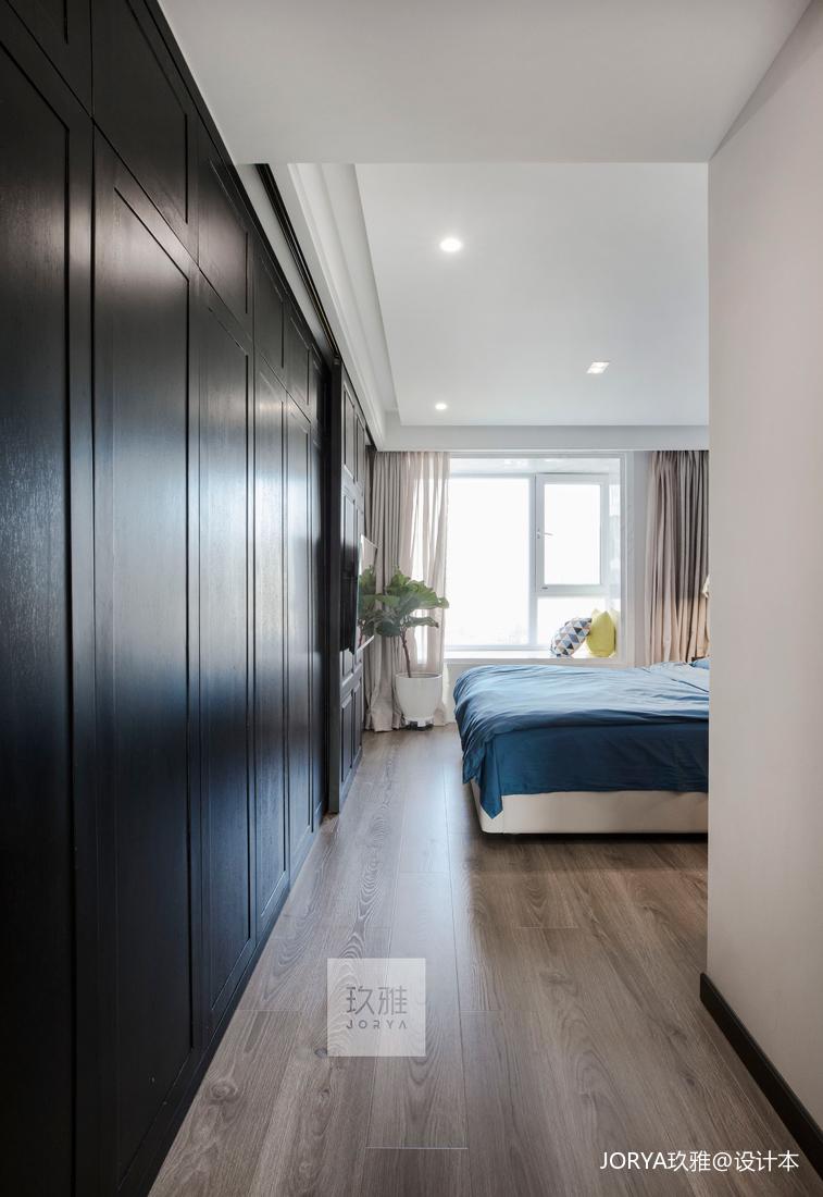 2019120平简约四居卧室设计图