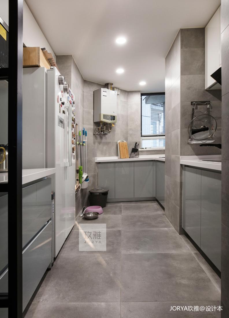 精致160平简约四居厨房布置图